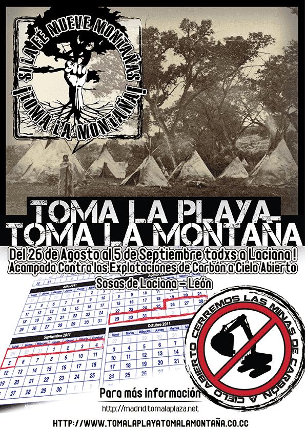 """1as acciones TLP-TLM: """"S.O.S LACIANA"""" y """"La toma de Trafalgar"""""""