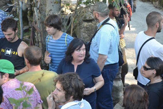 S.O.S. Laciana en imágenes: manifestación sindicalista de mineros contra la acampada