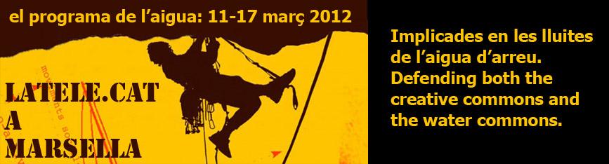 Las luchas por el Agua se reúnen en Marseille (France)