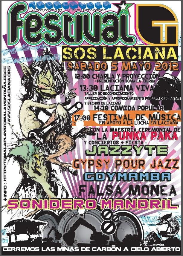 5 Mayo de 2012 - SOS Laciana en CSA Tabacalera