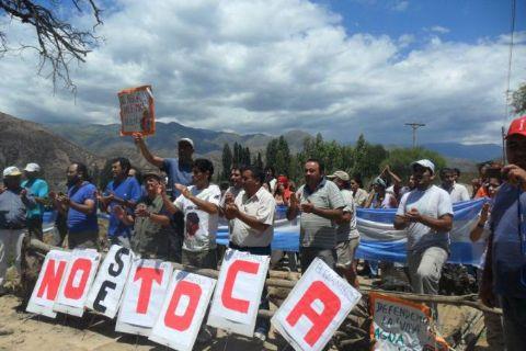 ARGENTINA. Derecho le dice no a la minería a cielo abierto y sí a la lucha de los pueblos por su salud