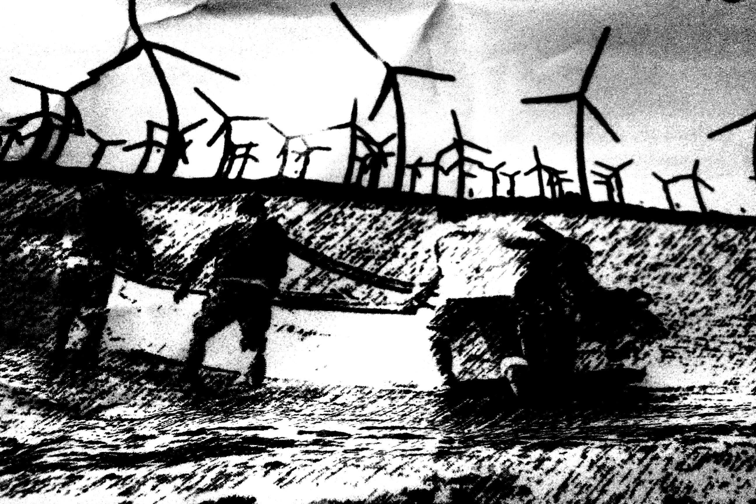 Luchas contra el megaproyecto eólico de las transnacionales en Oaxaca
