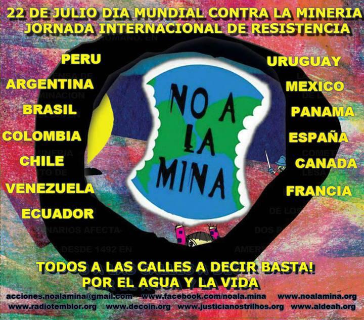 22J Dia mundial contra la Megaminería
