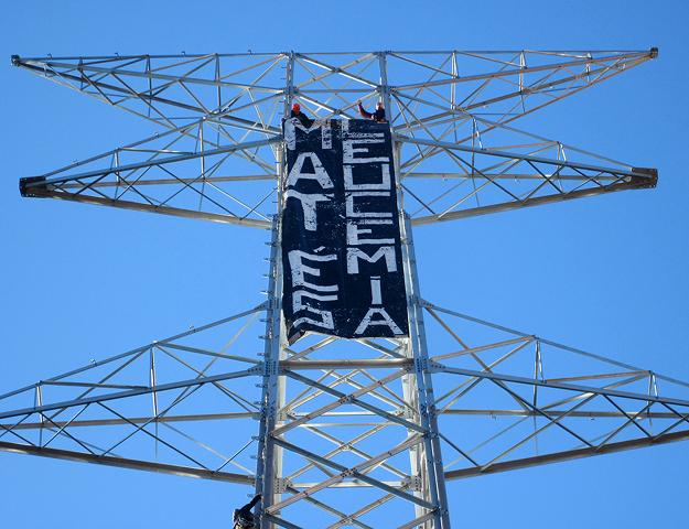 Comunicado de apoyo a la resistencia contra la MAT en Girona y propuesta de ciberaccion