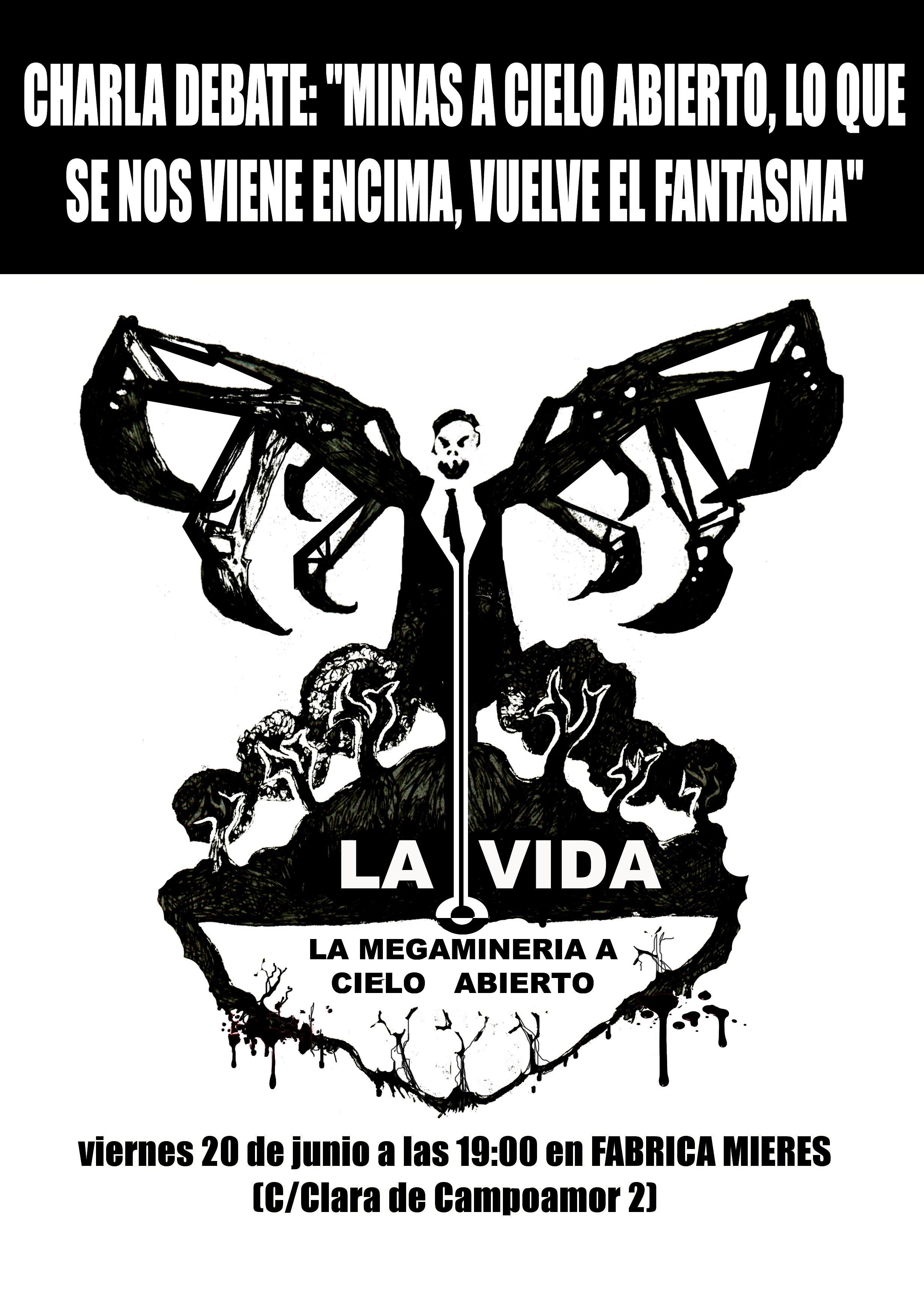 la amenaza de la megaminería en Asturies